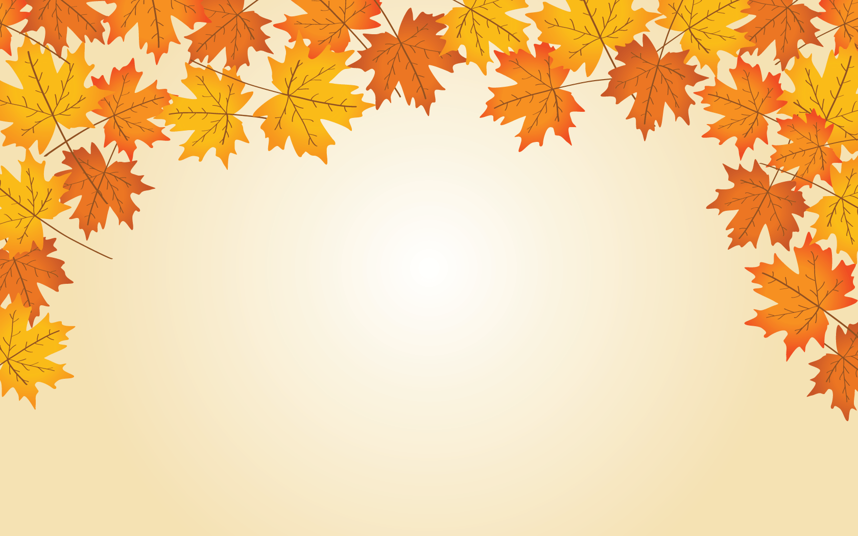 Autumn Ppt Background Free Autumn Frame Powerpoint Templates Slidebackground