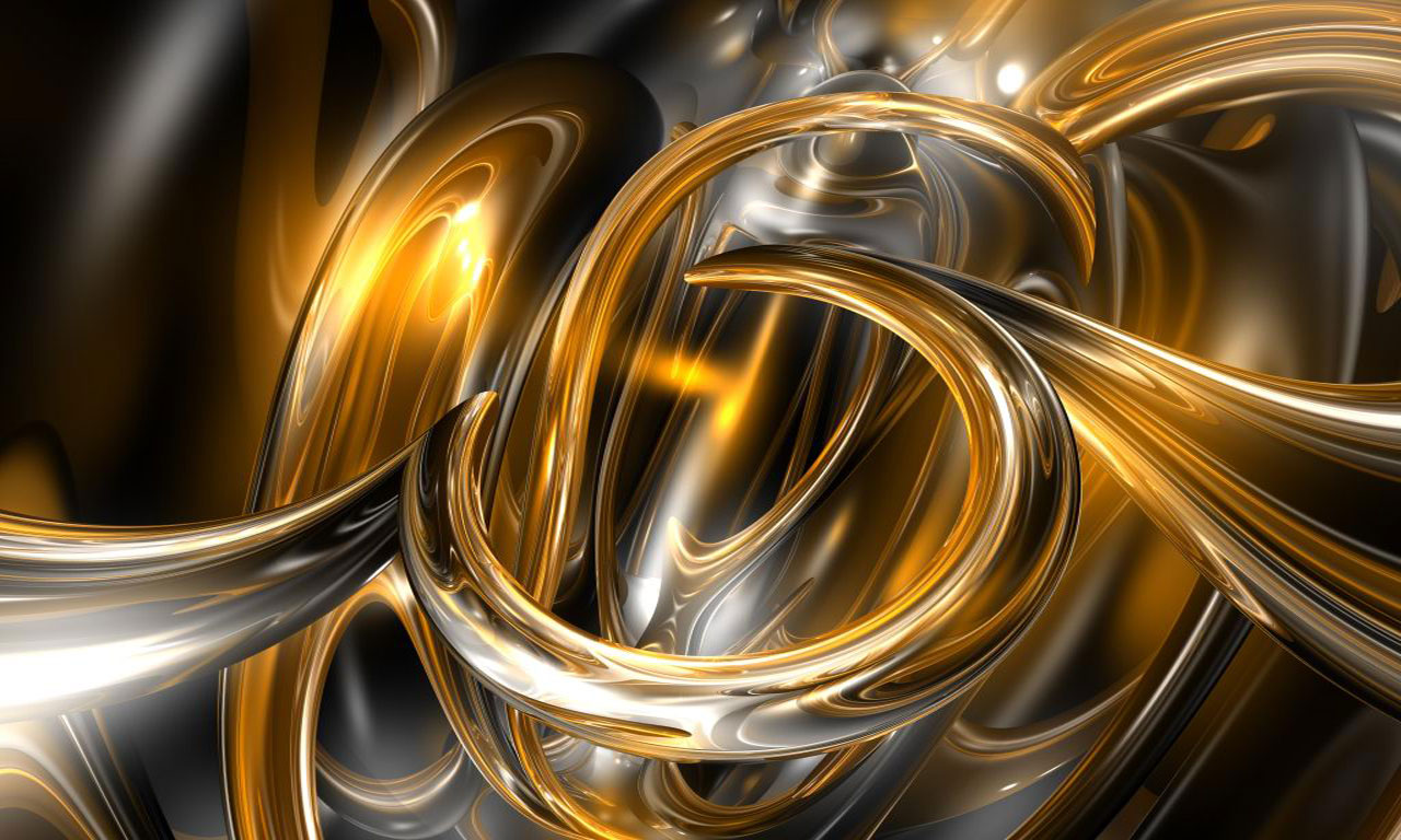 beautiful black and gold abstract hd background #5122