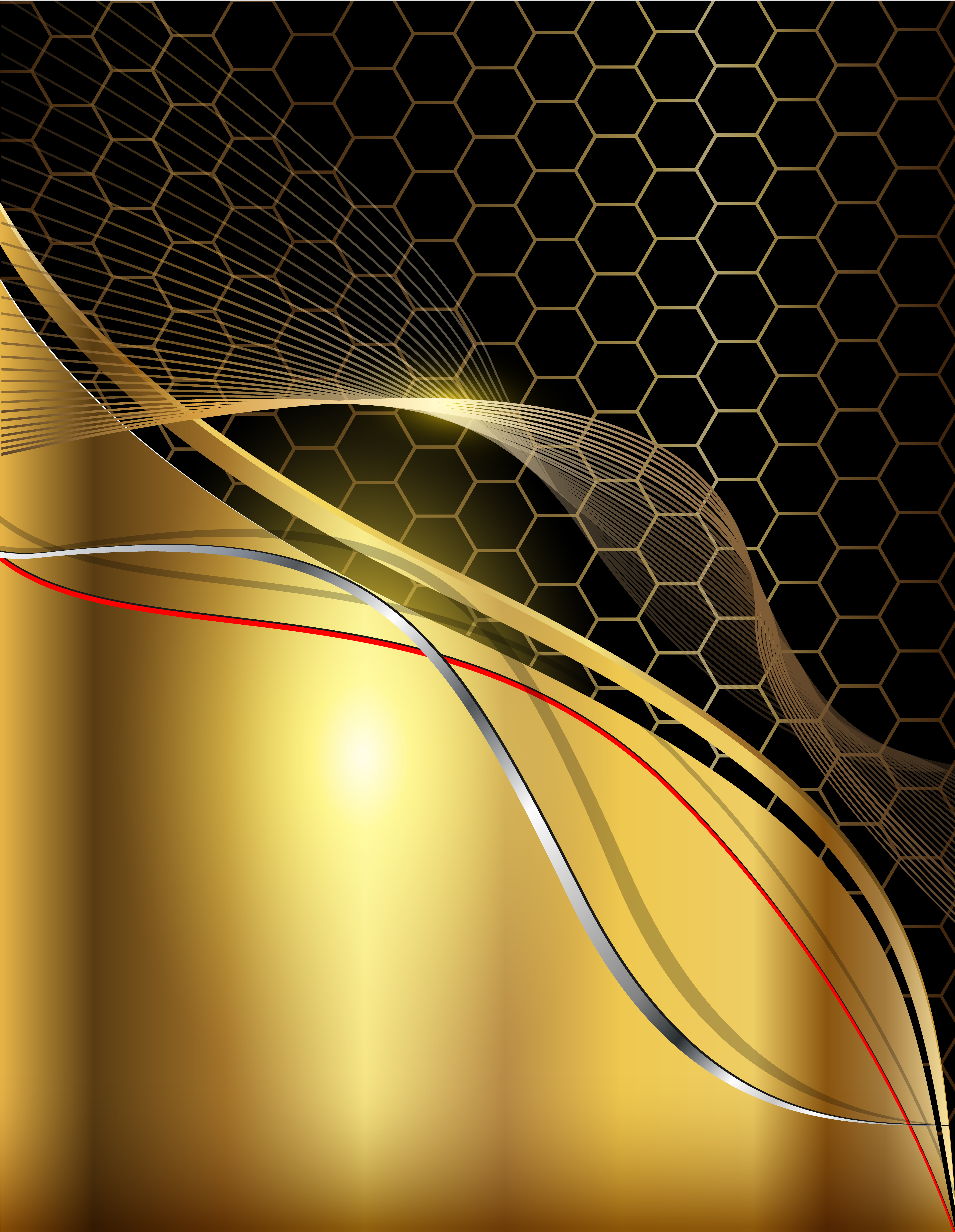 black and gold metal texture background golden black template #5259