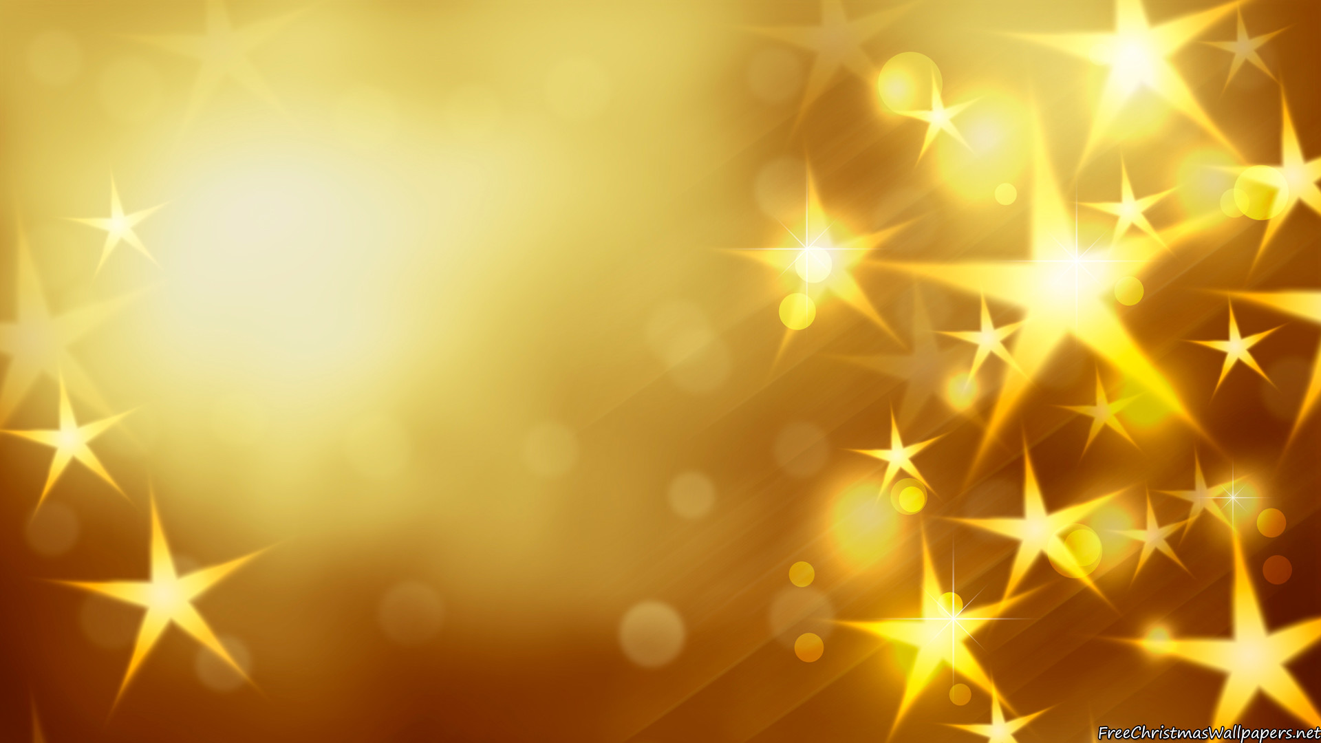 gold stars backgrounds free download #5264