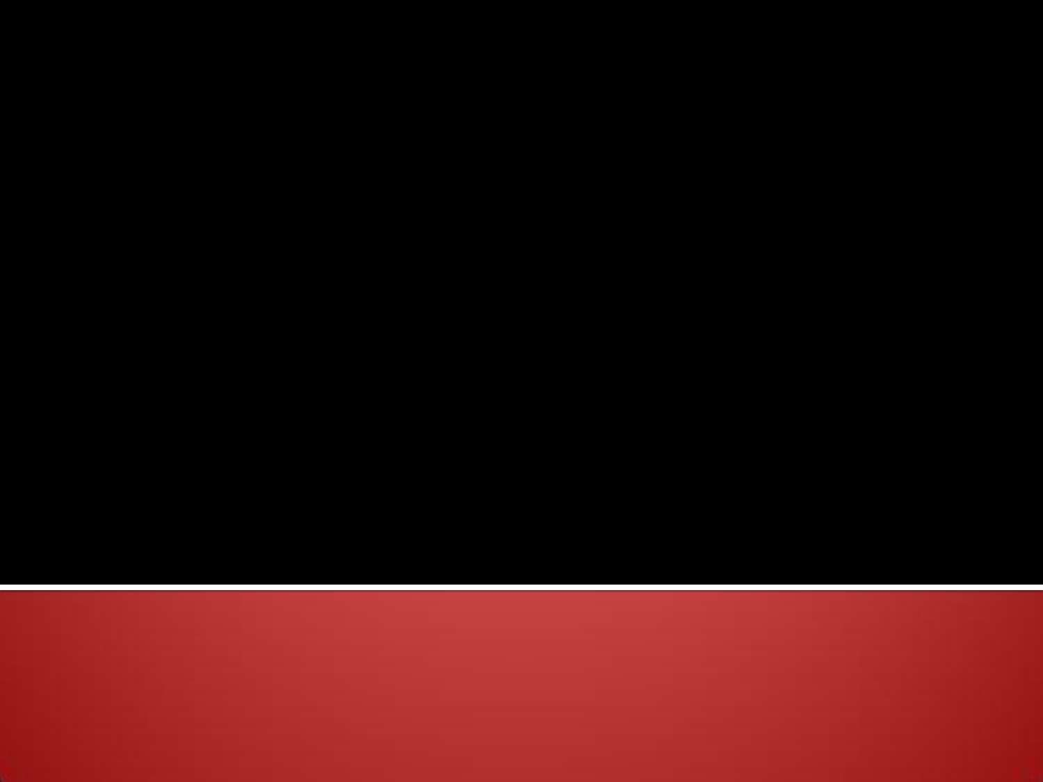 Red Bottom Edge On Black Background PowerPoint #821