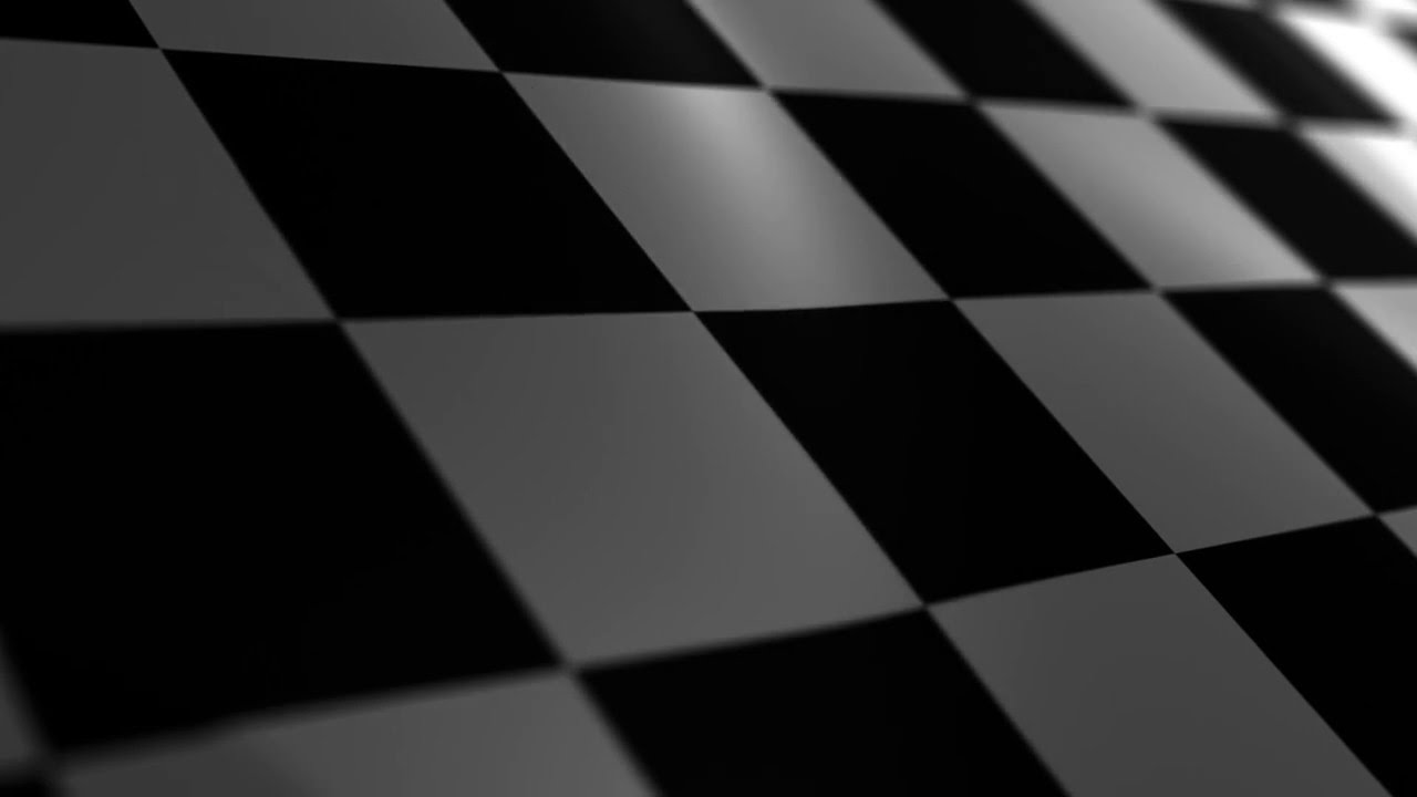 waving dark checkered flag images ppt background #4847