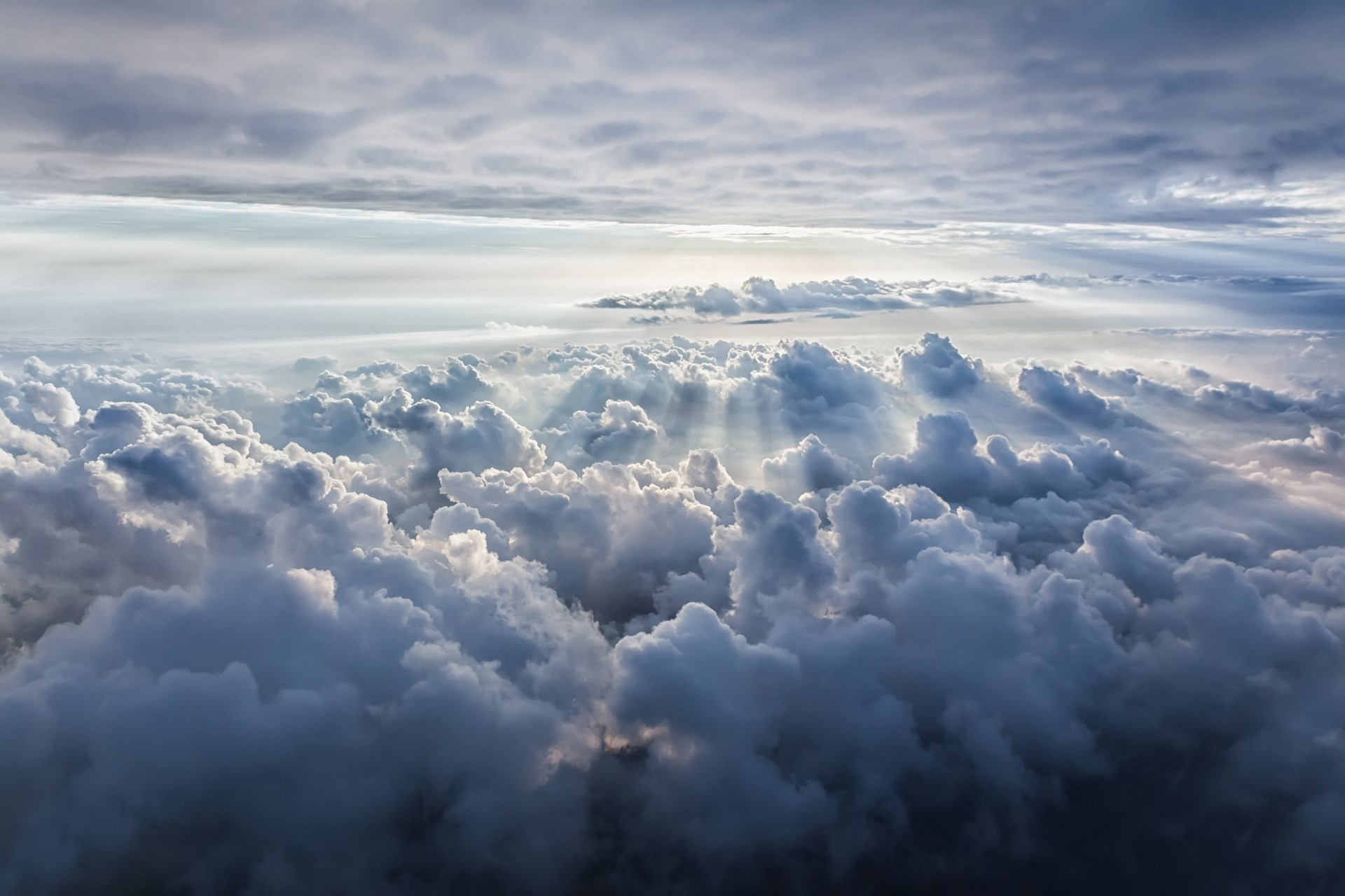 view from above clouds background free download #2002