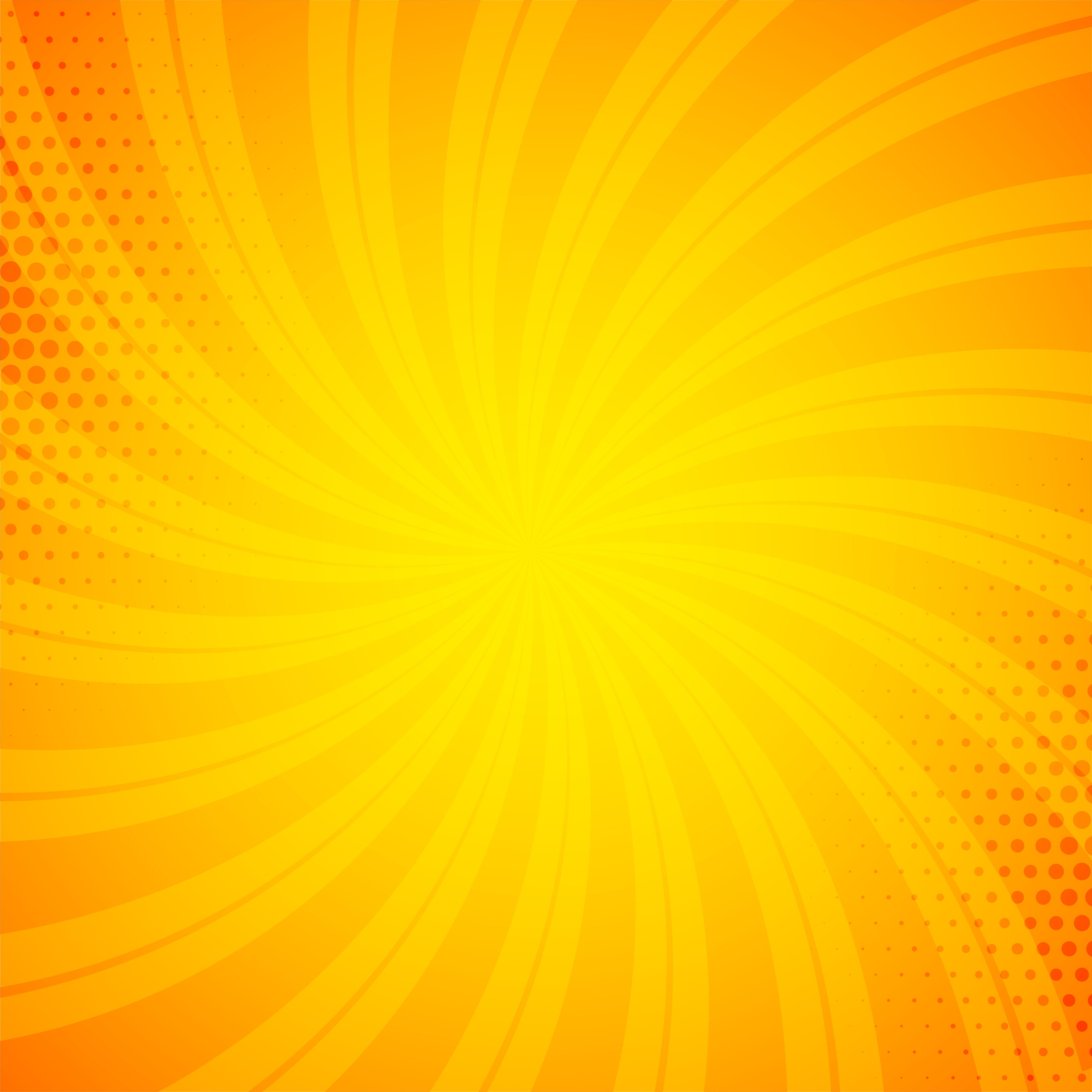 bright orange comic book background download vector #1036