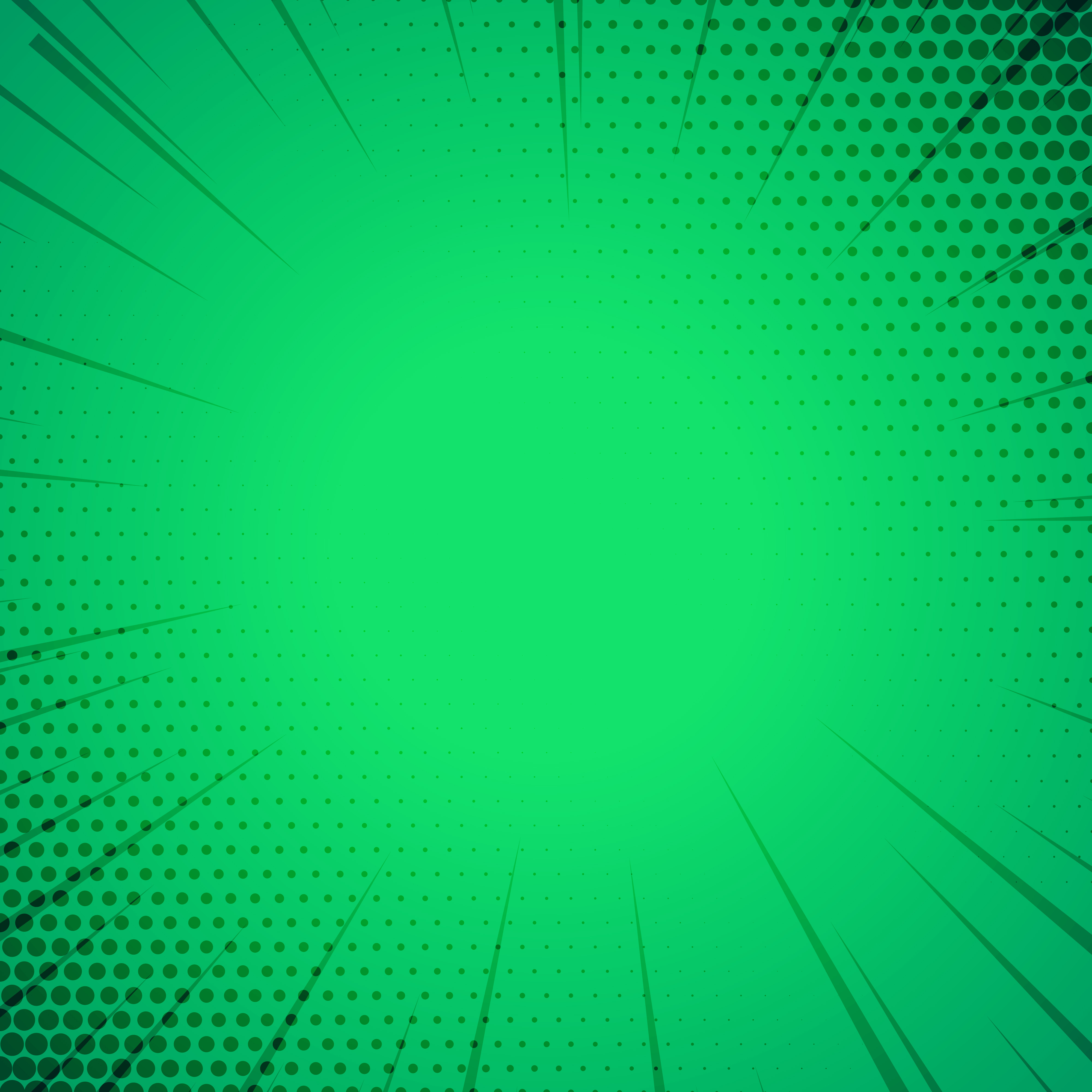 green comic book style template background download free #1034