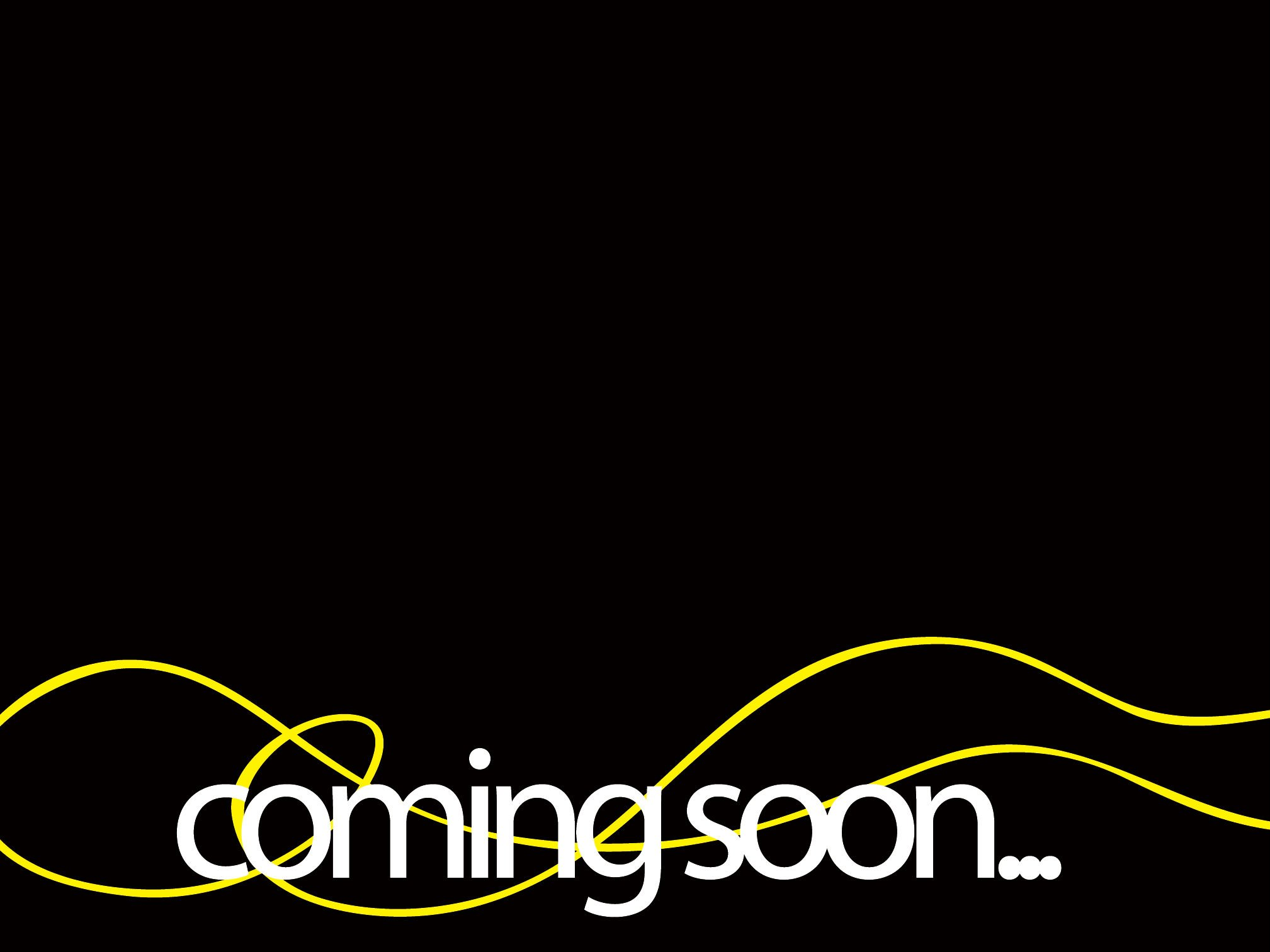 Coming soon written frame ppt background #3701