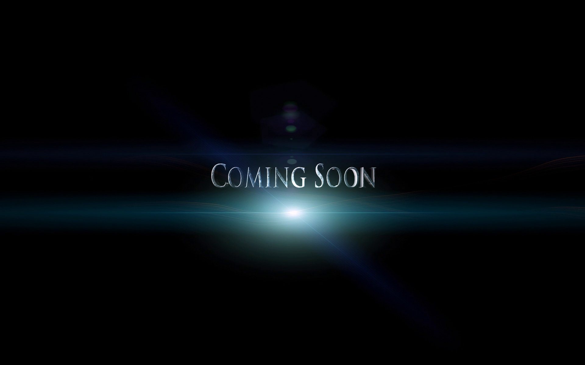 lights coming soon design background #3698