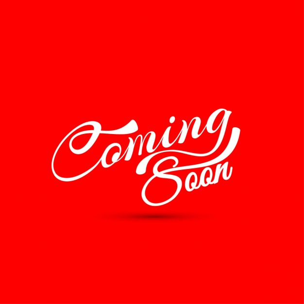 red background coming soon wallpapers #3708