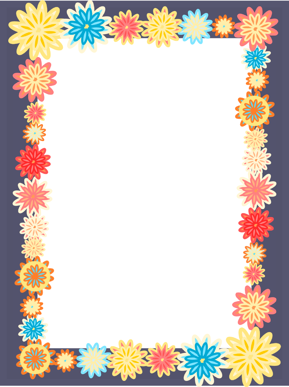 Beautiful Grey animation flowers frame, flower border wallpapers hd free #1170