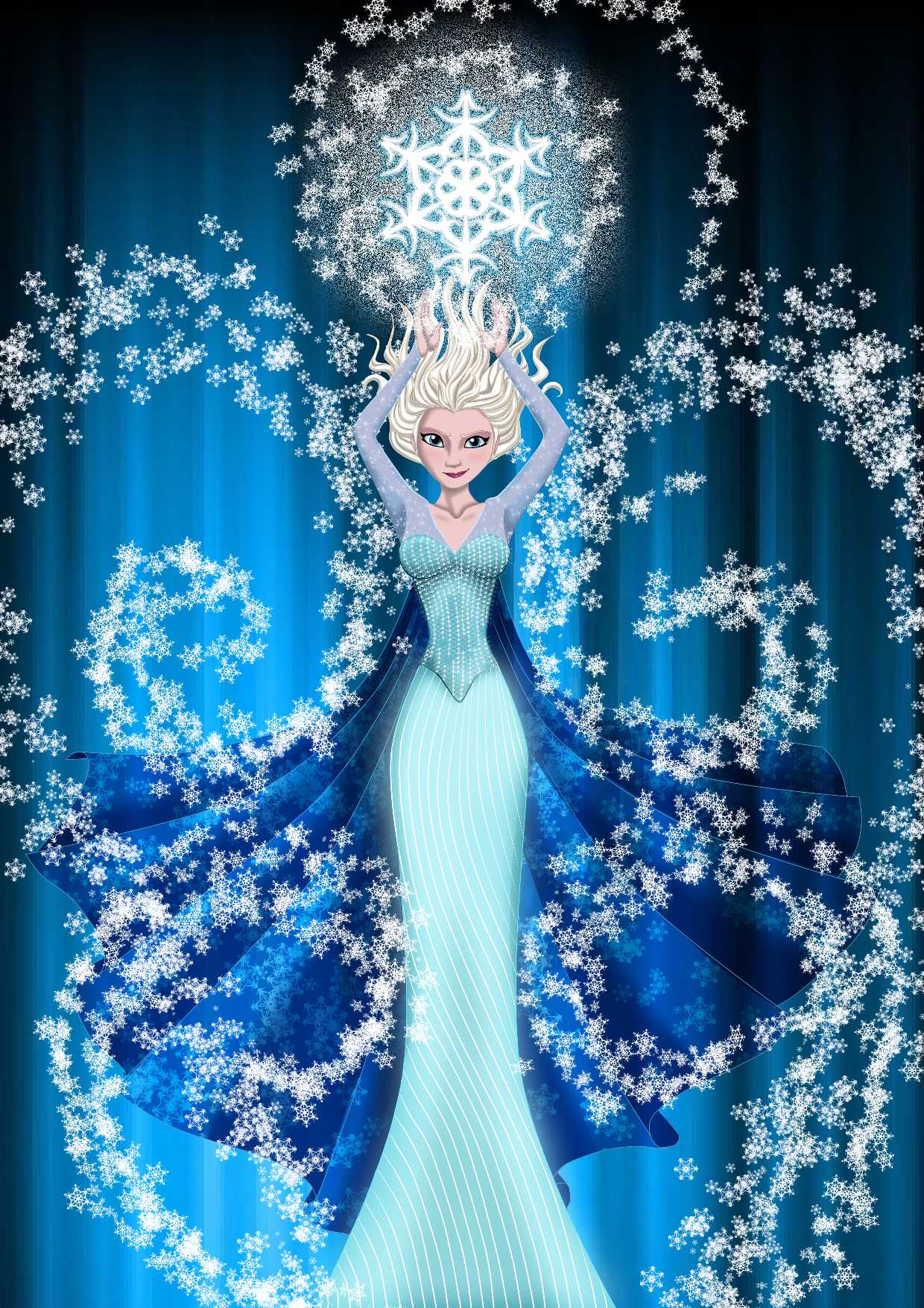 elsa, cartoon, Frozen wallpaper #2733