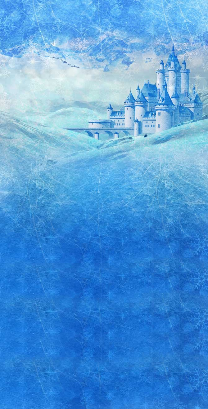 sea and castle, Frozen wallpaper phone #2741