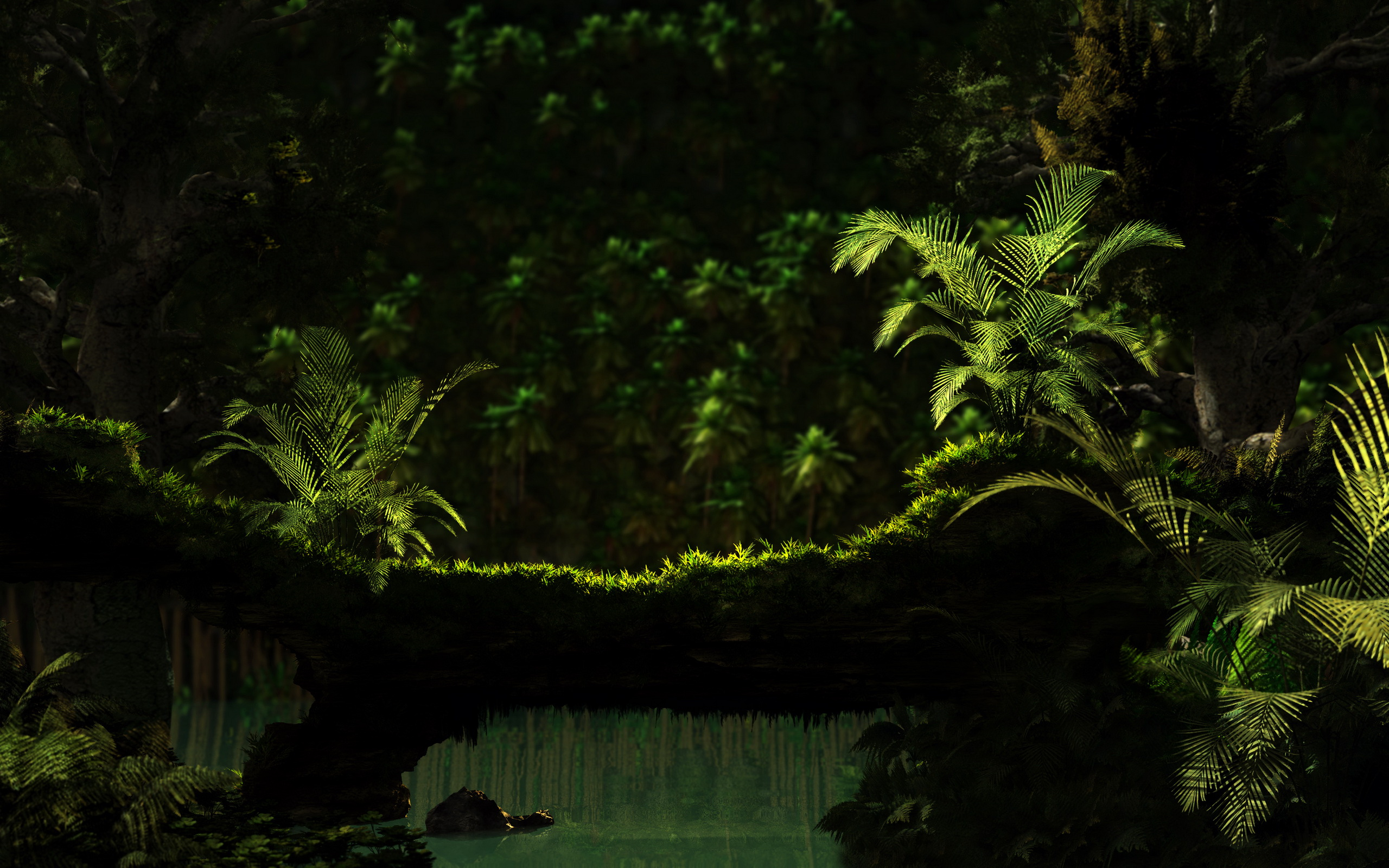 quality jungle background #4984