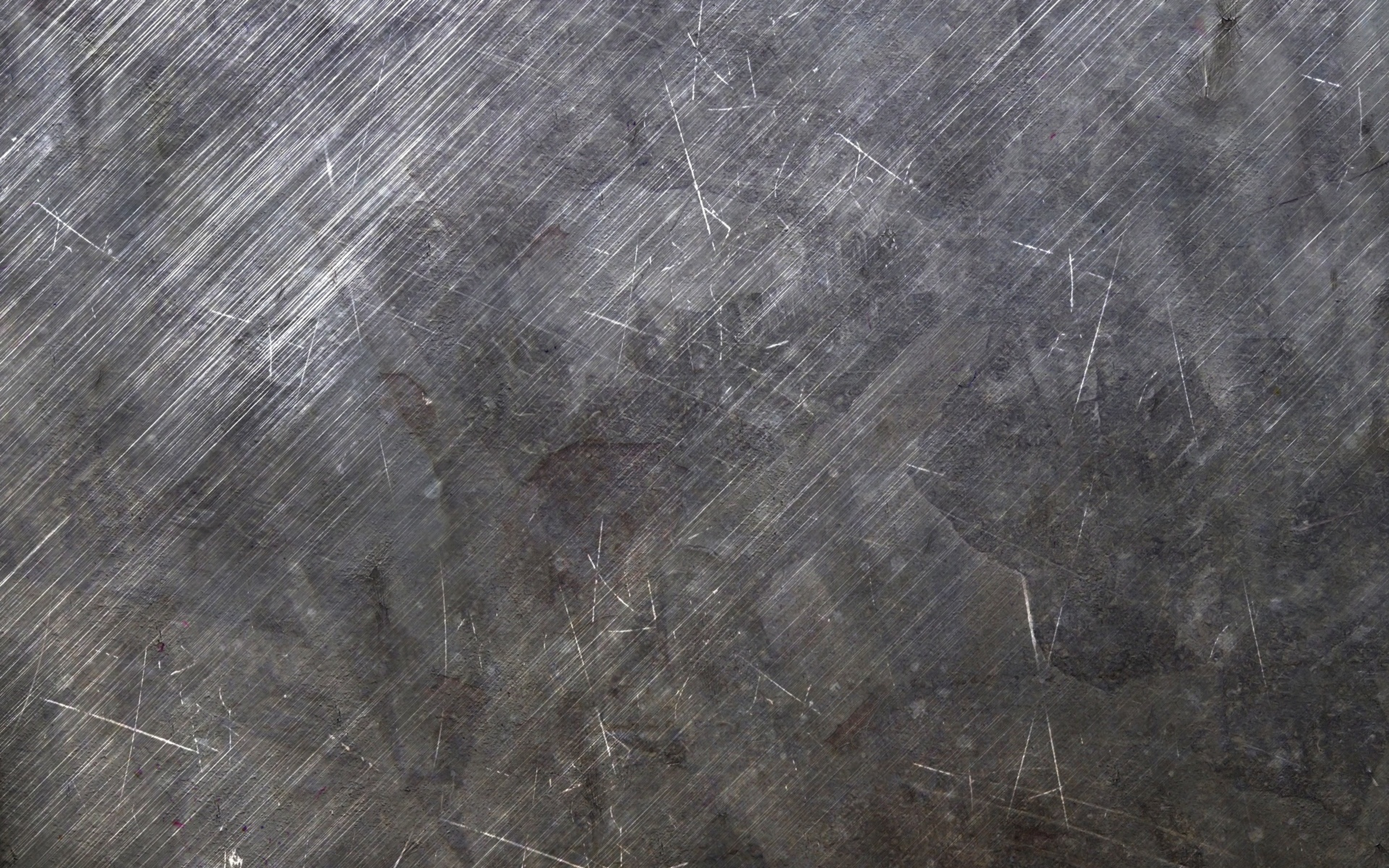Gray scratched metal ppt background #3824