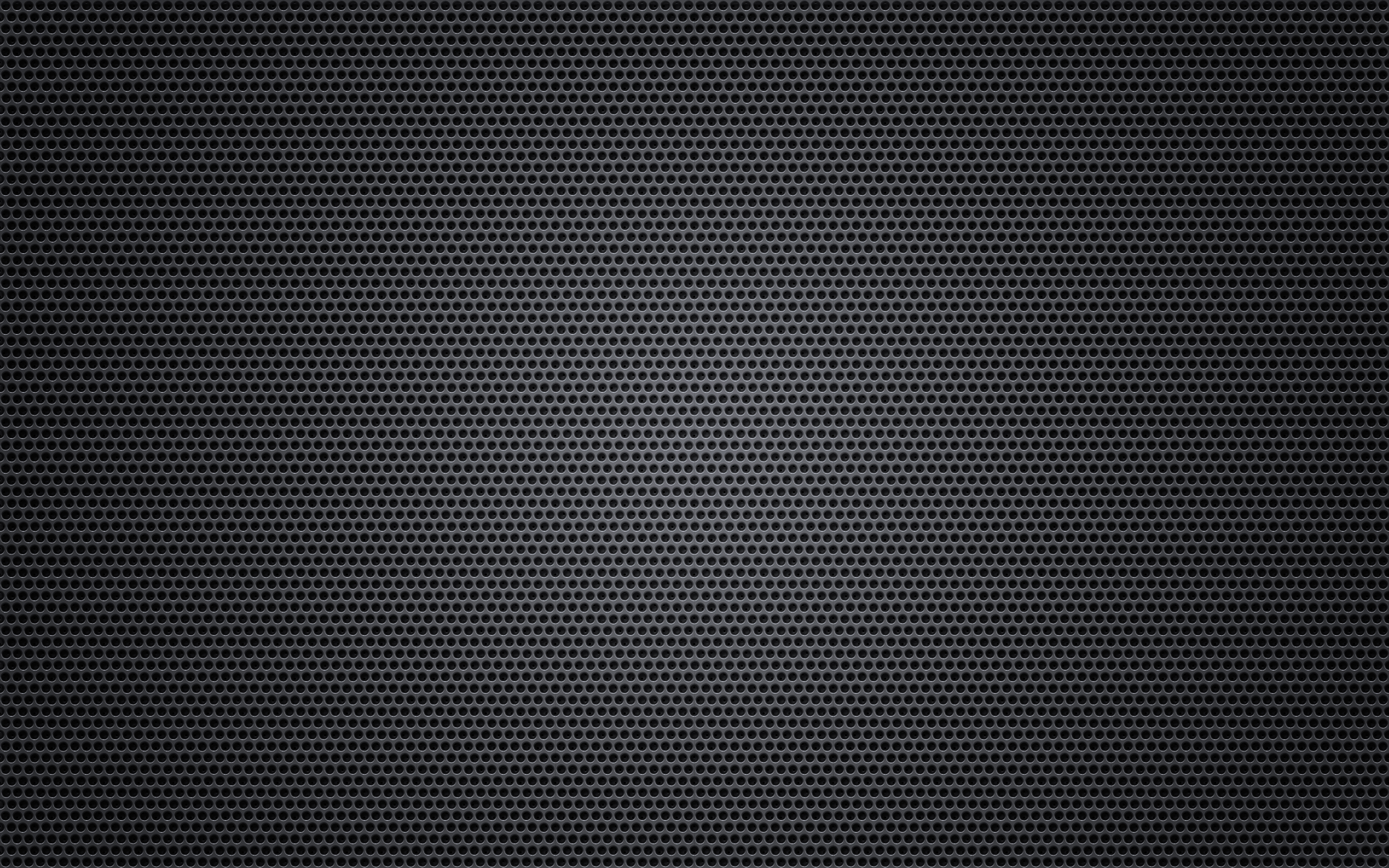 Round hole black metal ppt background #3814