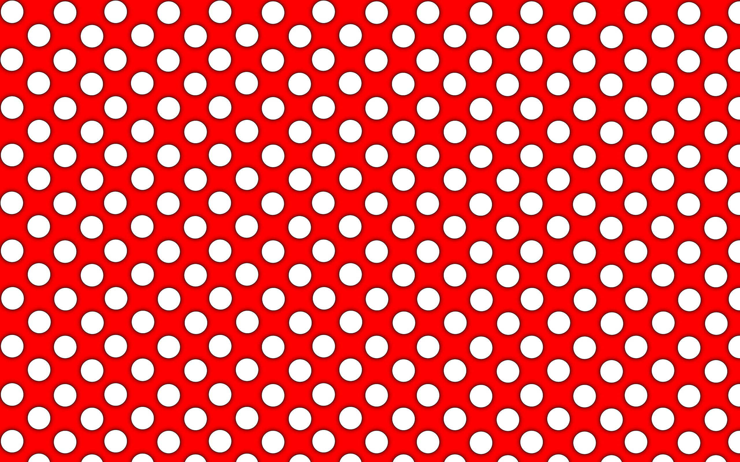 beautiful red polka dots powerpoint background #3437