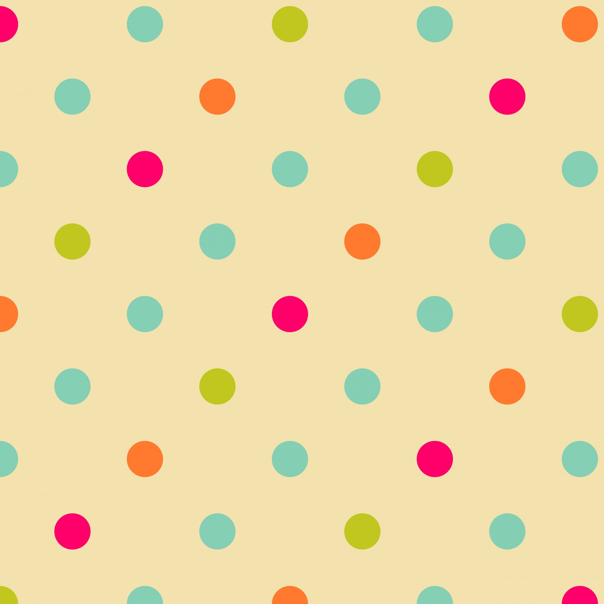 colorful polka dots wallpaper #3440