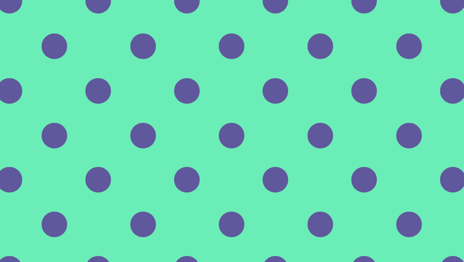 green polka dots desktop background #3446