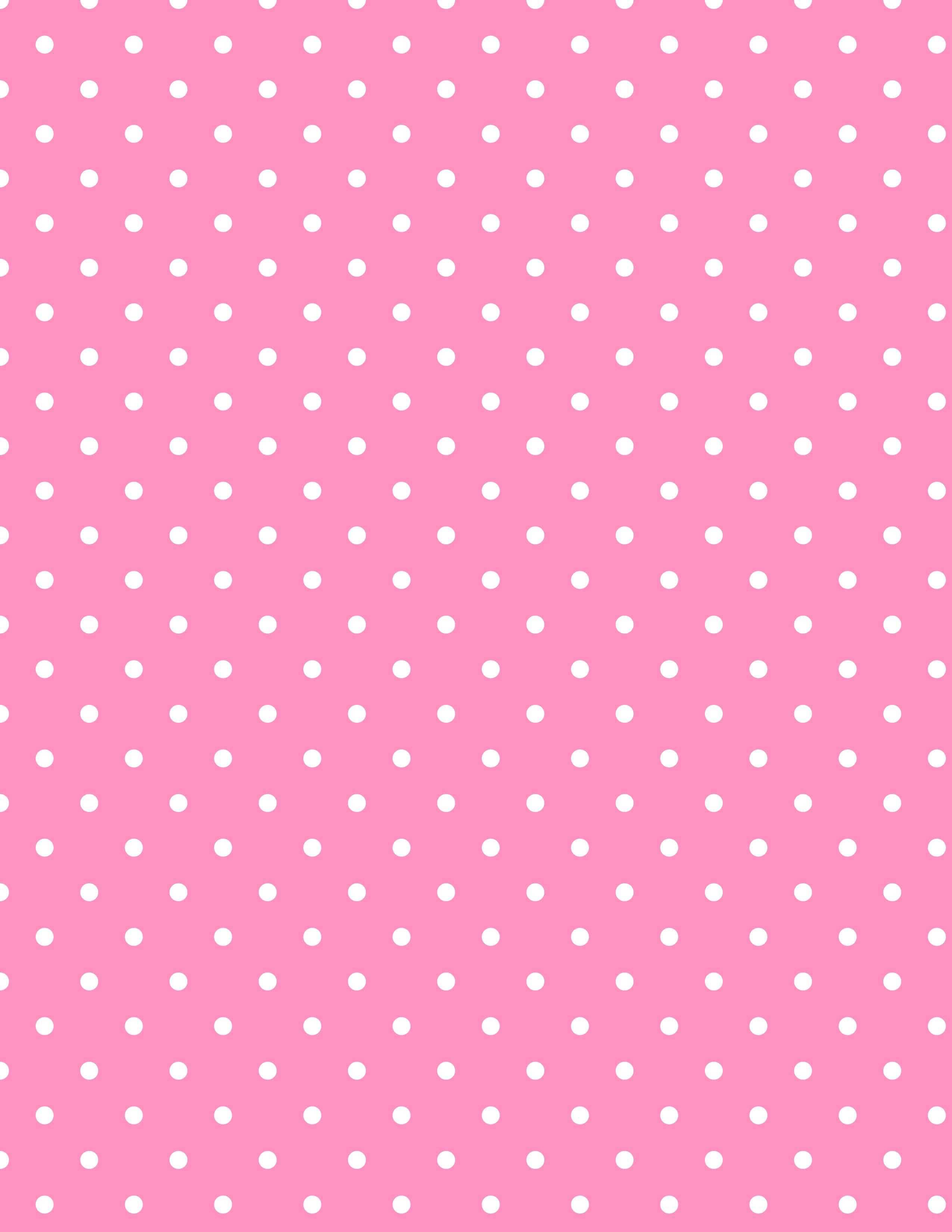 pink white patterned polka dots pictures wallpaper #3422