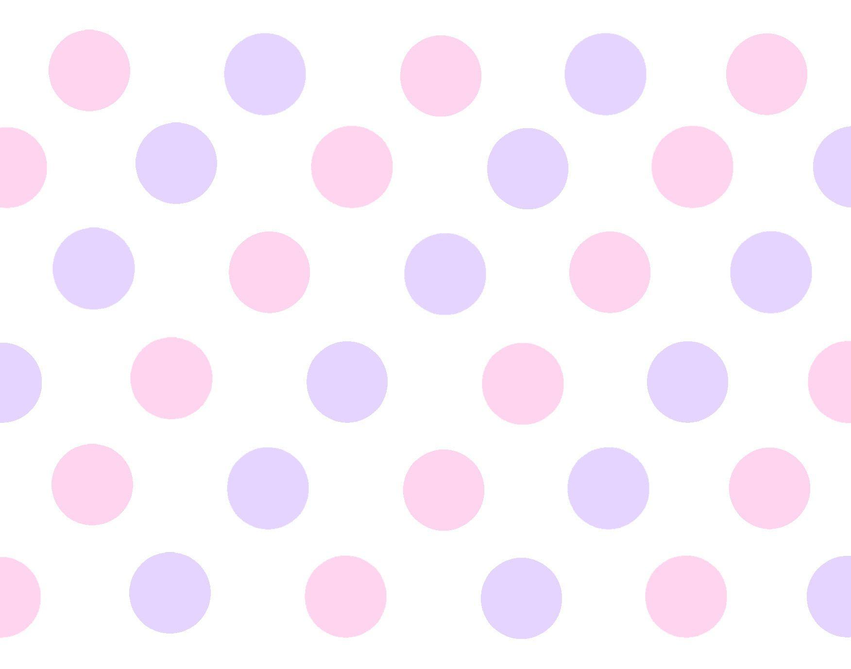 purple pink pattern polka dots powerpoint backgrounds #3429