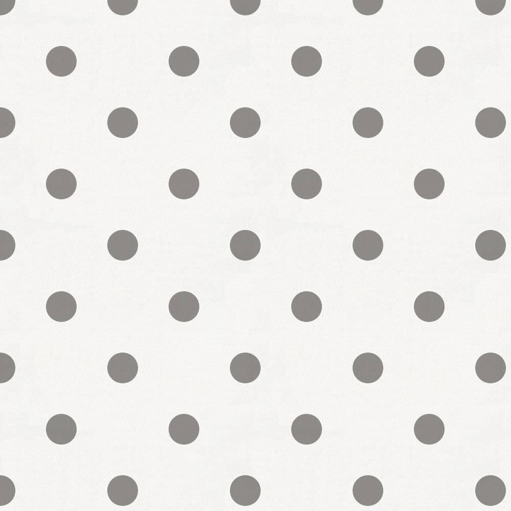 White gray polka dots fabric background #3449