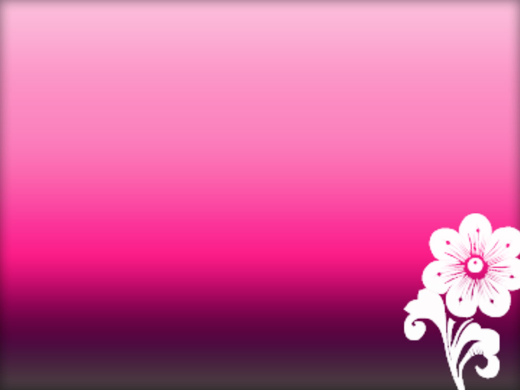 powerpoint pink background with flower design #46