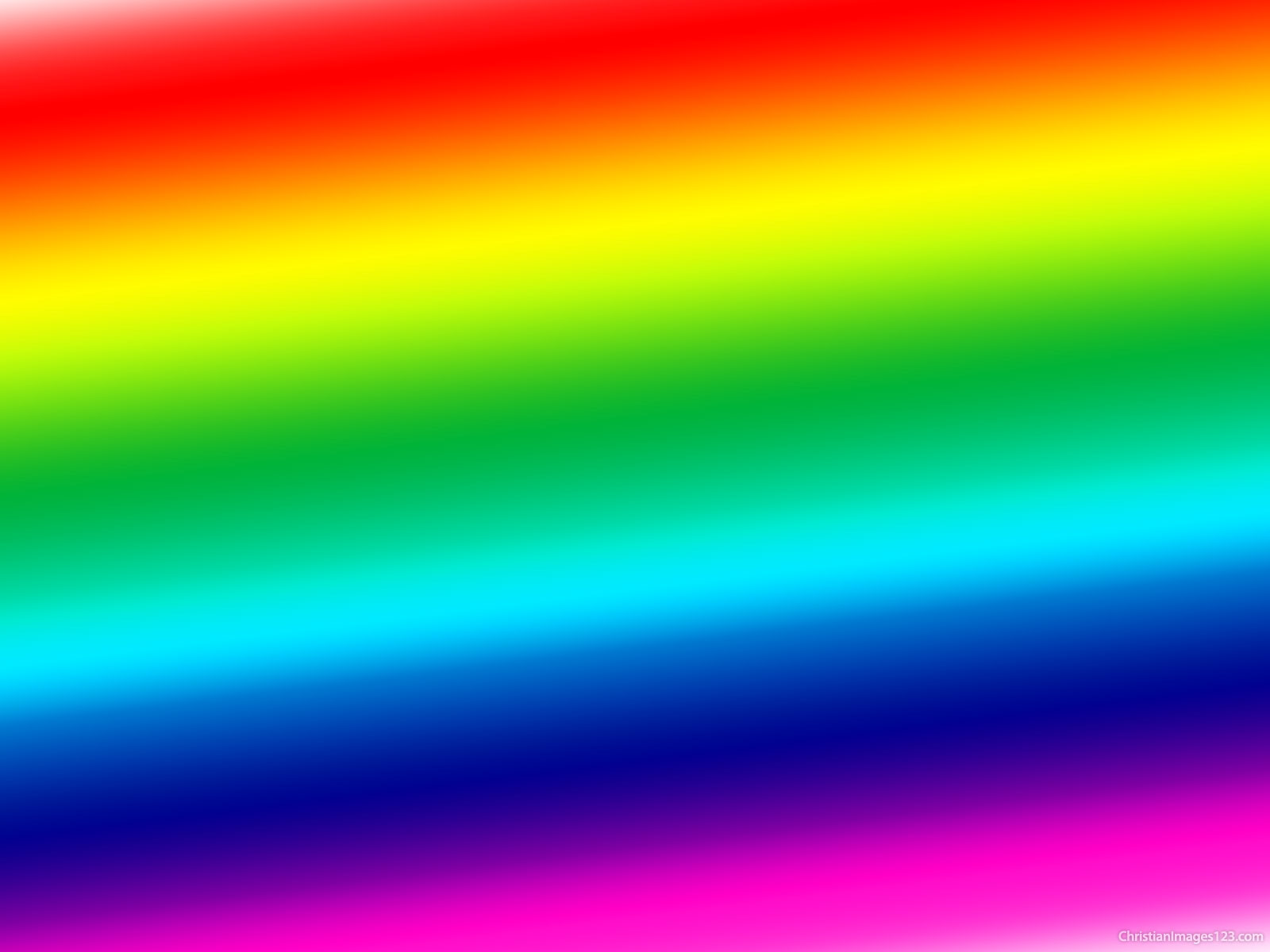 Neon rainbow colors with side stripes wallpaper #3619