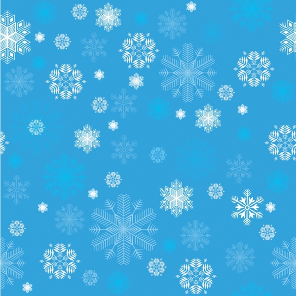 blue background white snowflake wallpapers free download #1656