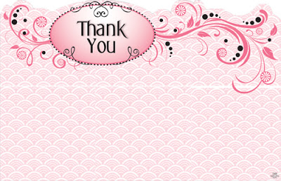 abstract pink thank you powerpoint backgrounds #3728