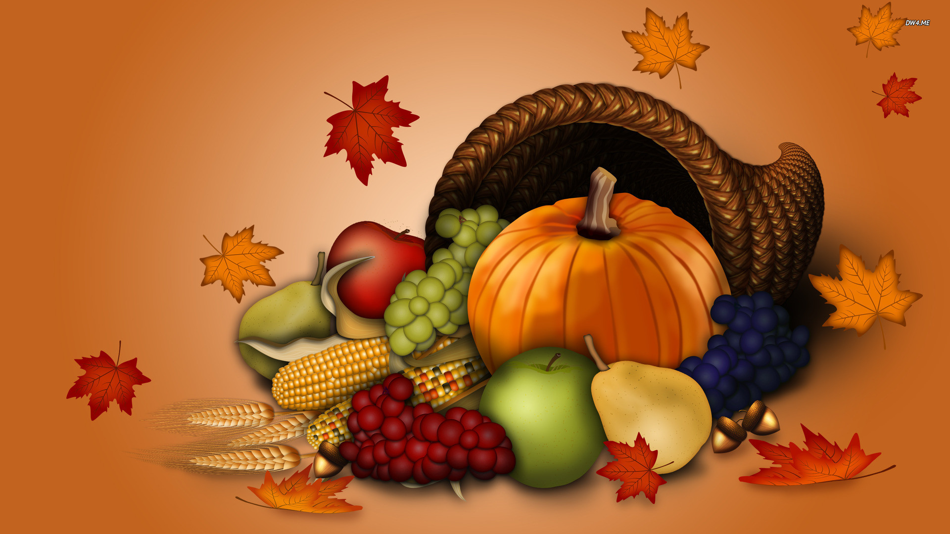 animation thanksgiving fruits backgrounds hd free #1710
