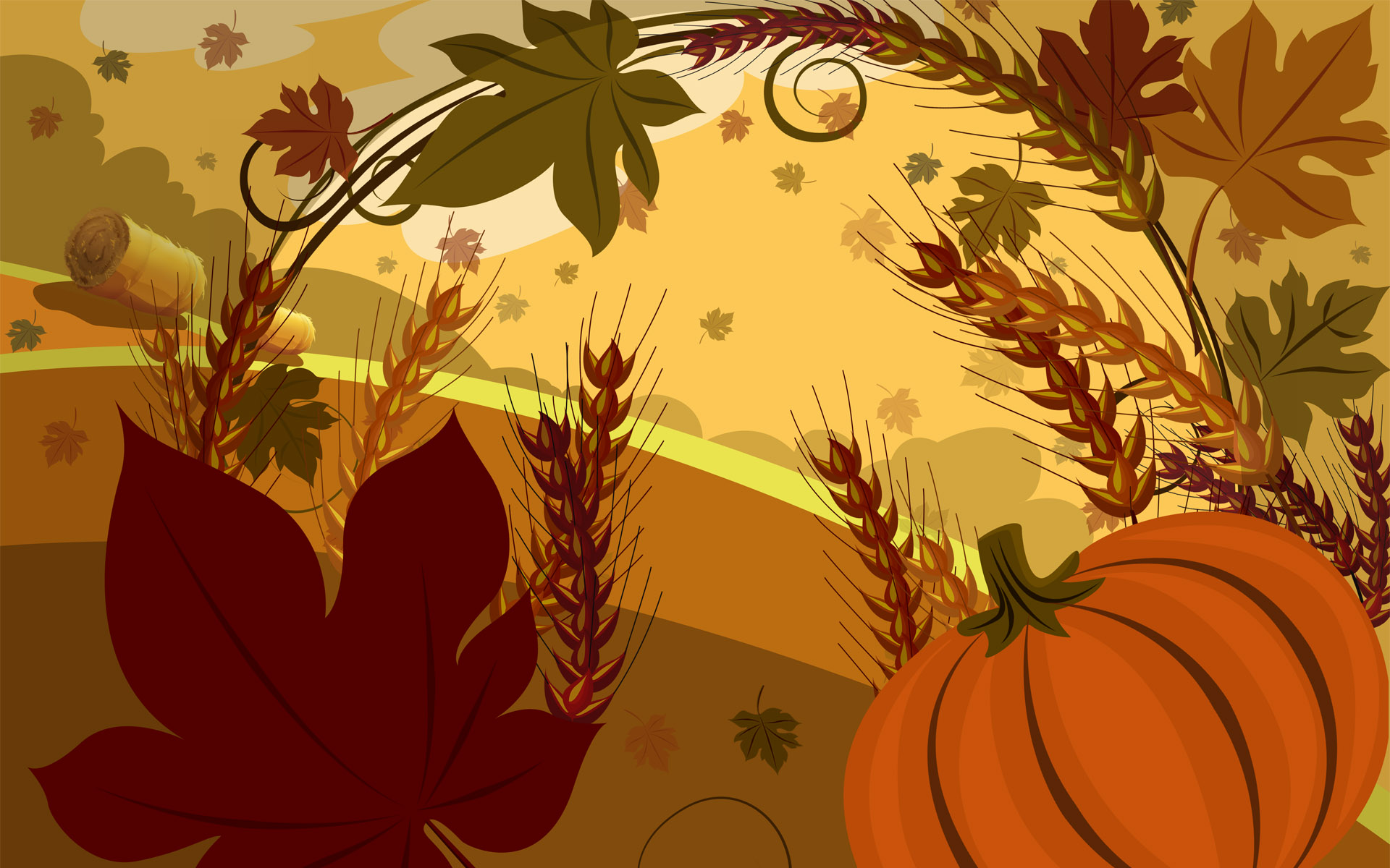 quality thanksgiving desktop backgrounds wallpapers, pumpkin #1695